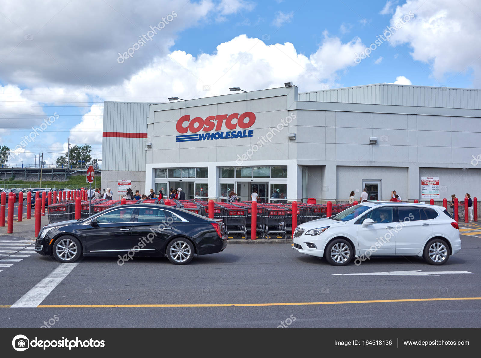 Costco wholesale store and logo stock editorial photo dennizn costco wholesale corporation trading as costco is the largest american membership only warehouse club photo by dennizn thecheapjerseys Gallery