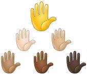 Schwurhand emoji
