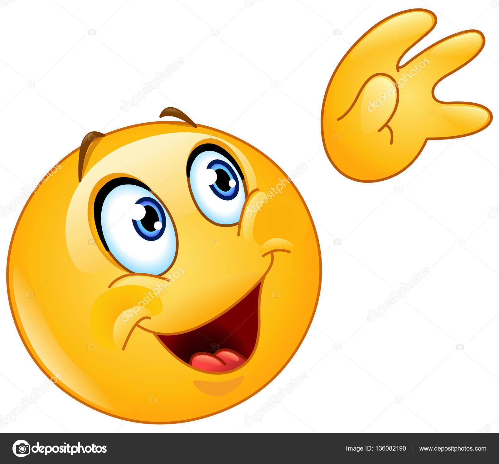 winken zum himmel emoticon stockvektor  u00a9 yayayoyo 136082190 farewell clip art school farewell clip art images