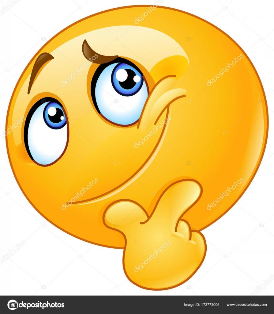 vector denken emoticon stockvector  u00a9 yayayoyo 173773006 clip art question mark images clip art question mark in circle