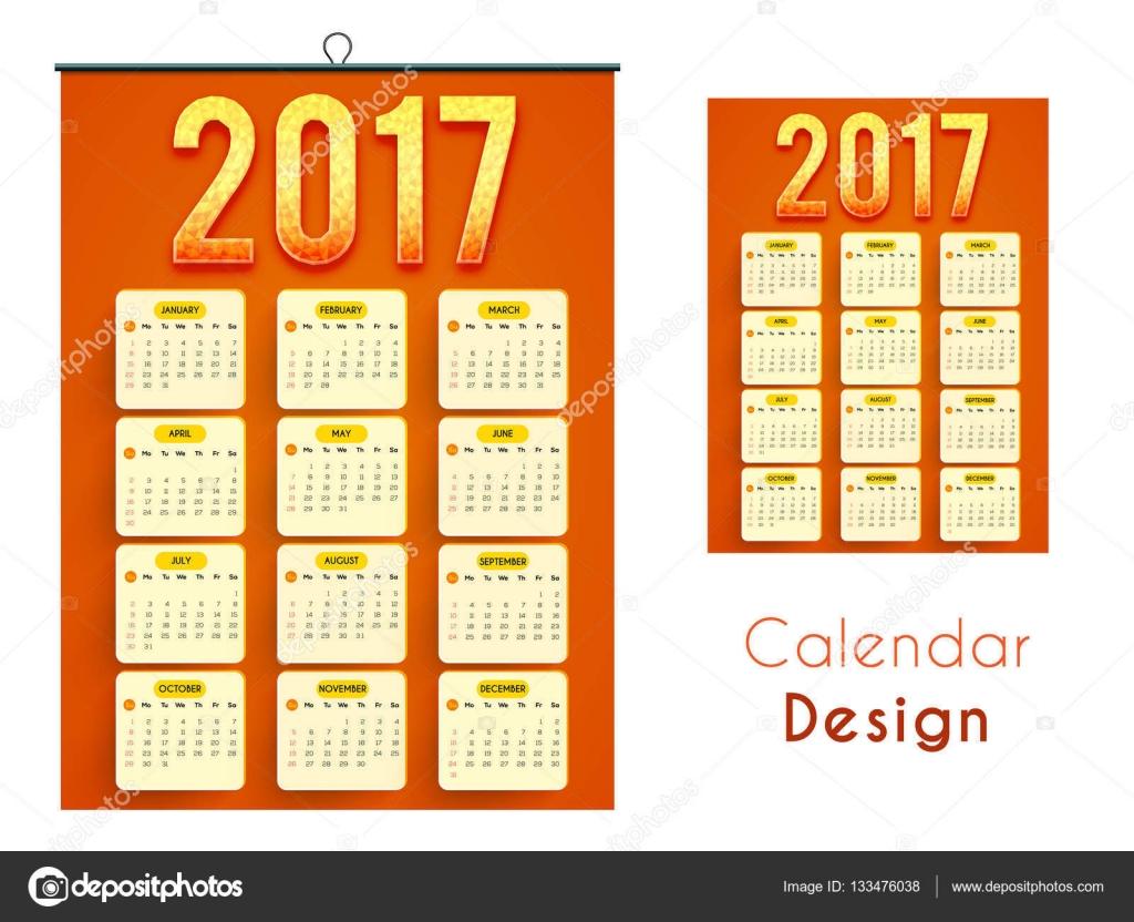Creative Wall Calendar