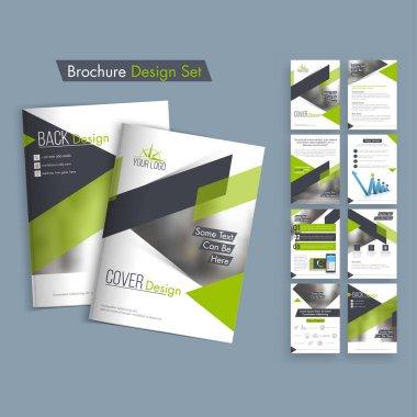 Creative Business Brochure Design. stock vector