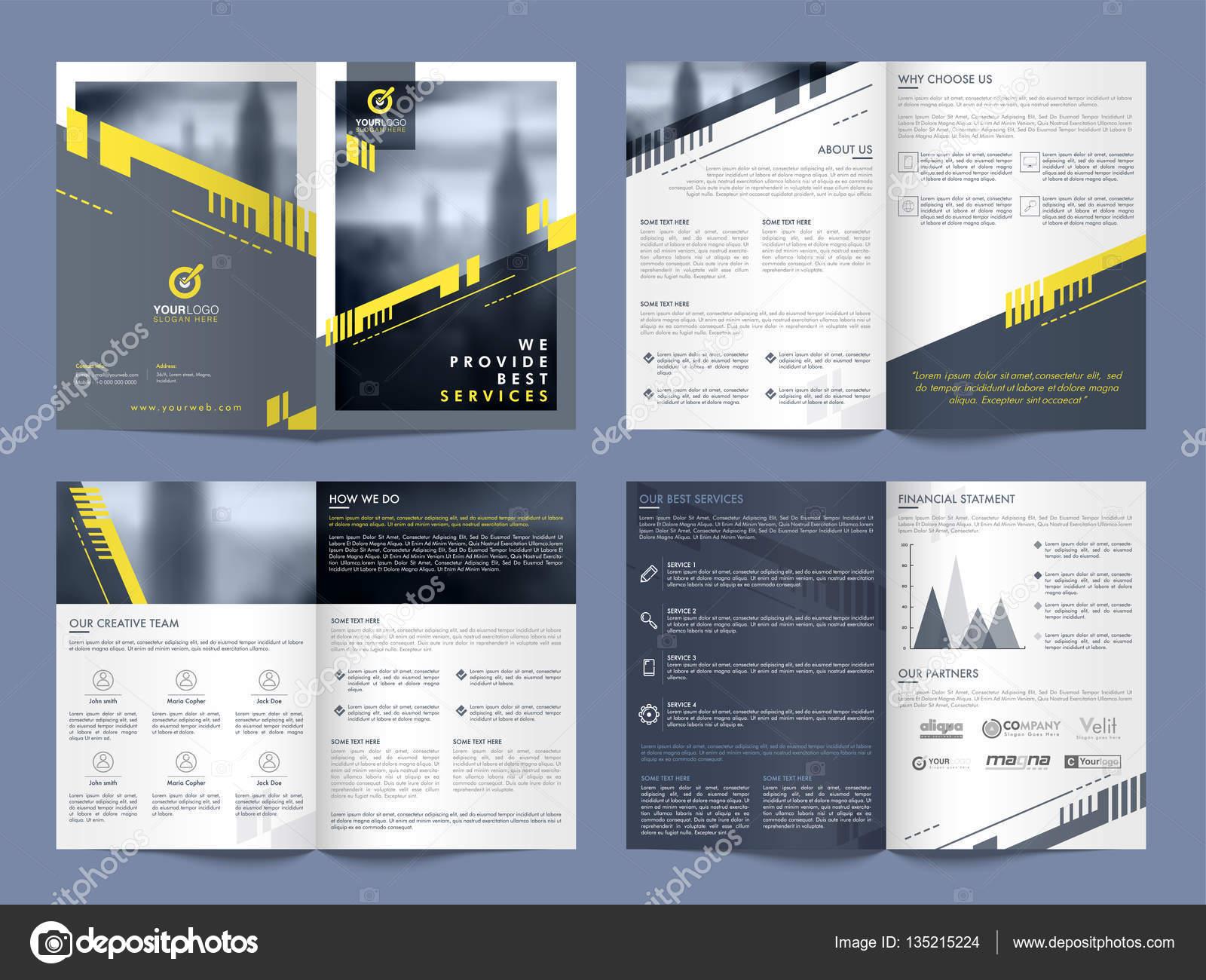 Unternehmen-Flyer, Banner oder Vorlage — Stockvektor ...