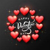 Přání na Valentýna oslavu