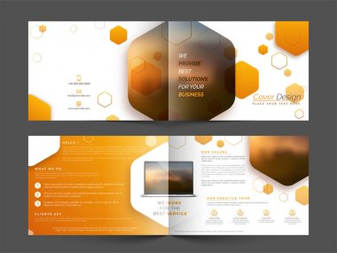 Brochure, Cover Design for Business.