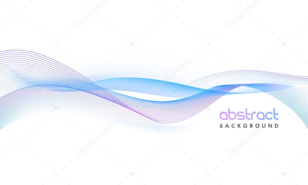 Creative abstract waves background.