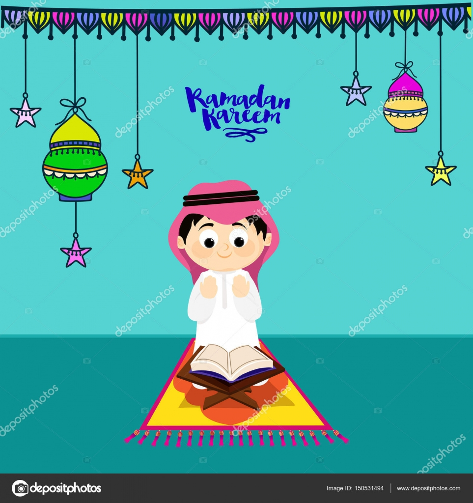 Unduh 720 Gambar Animasi Muslim Ramadhan HD Terbaru Gambar