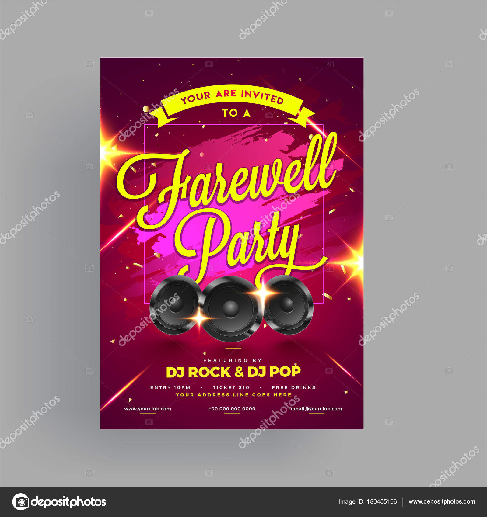 Images Farewell Banner Farewell Party Banner Or