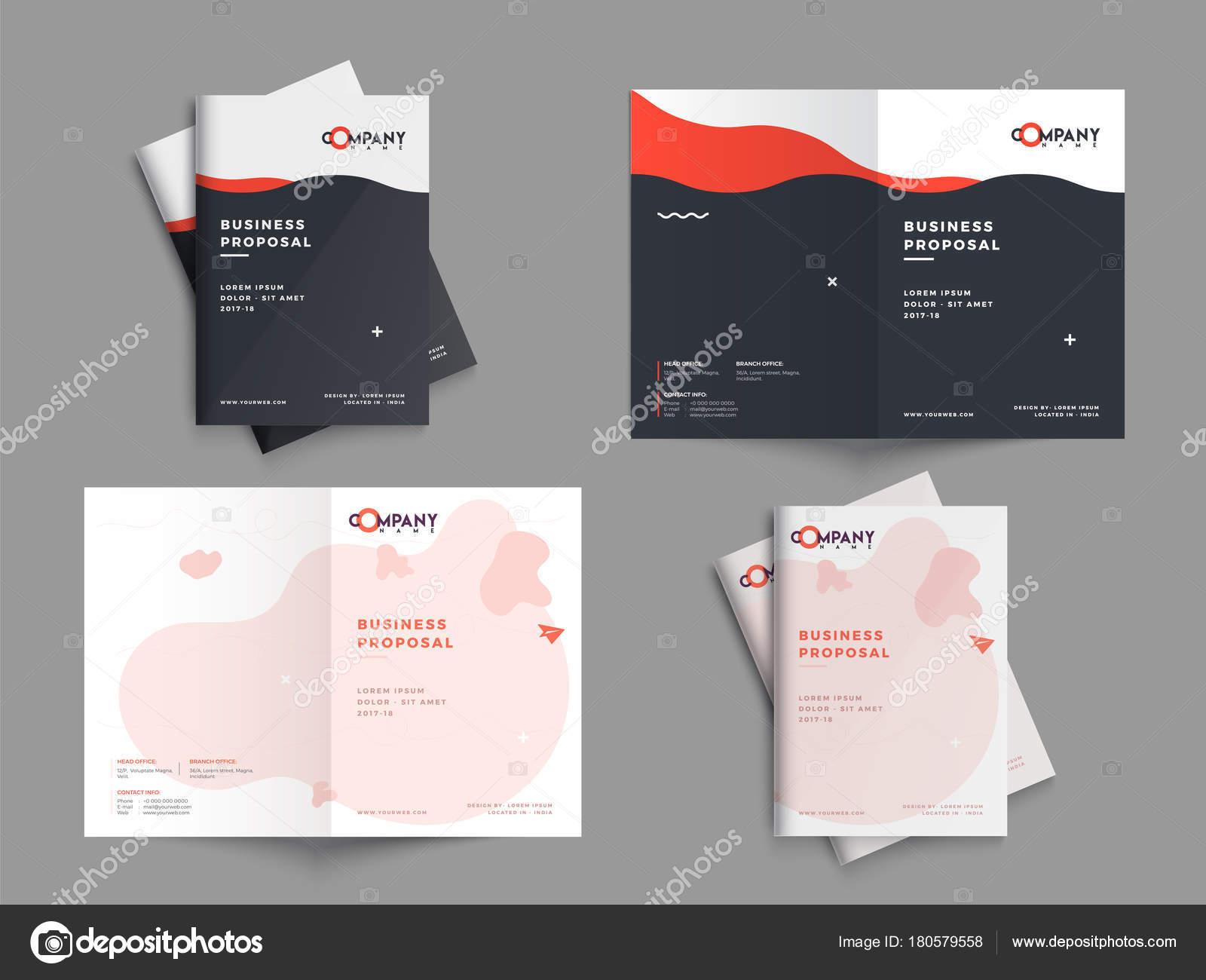 Diseño de propuesta de negocio creativo, ingenio de diseño plantilla ...