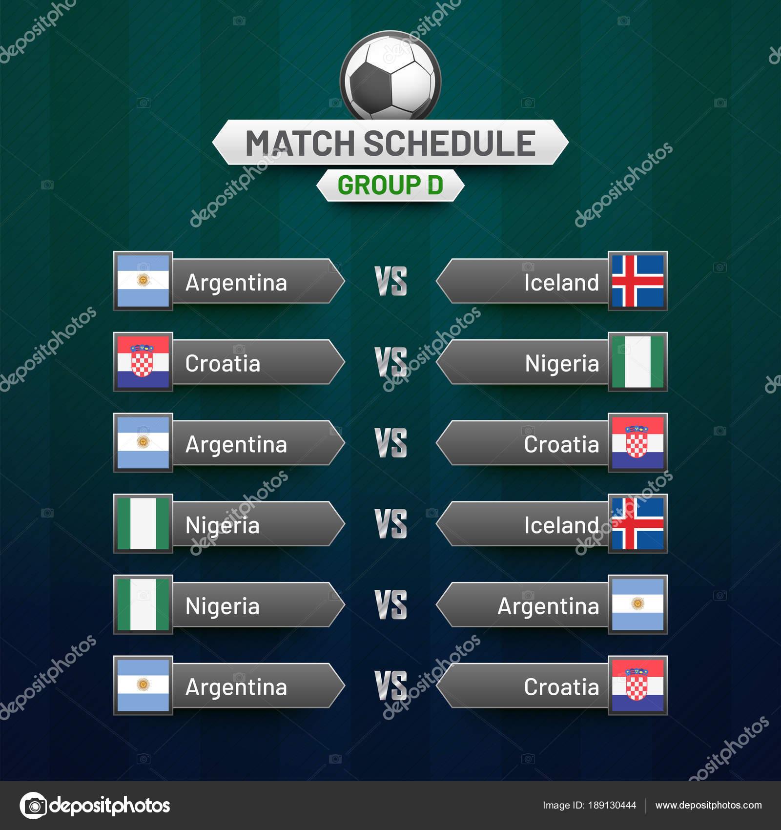 Calendario Mundial Futbol.Tablero De Juegos Del Mundial 2018 Calendario De Copa Mundial