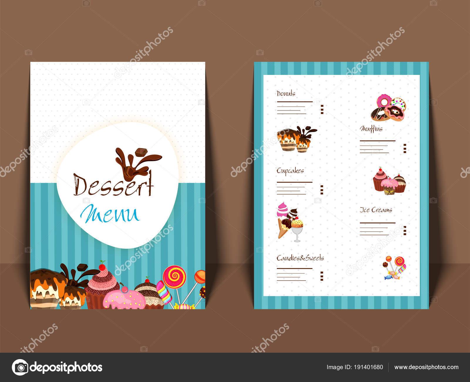Restaurante cafeter a men dise o de plantillas folleto for Disenos de menus para cafeterias