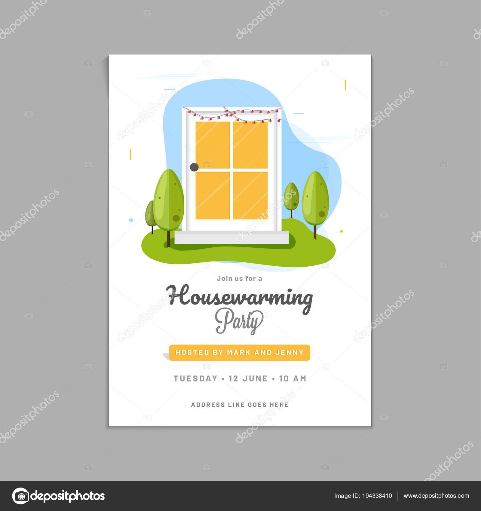 Imágenes Invitacion Inauguracion Casa Diseño Tarjeta