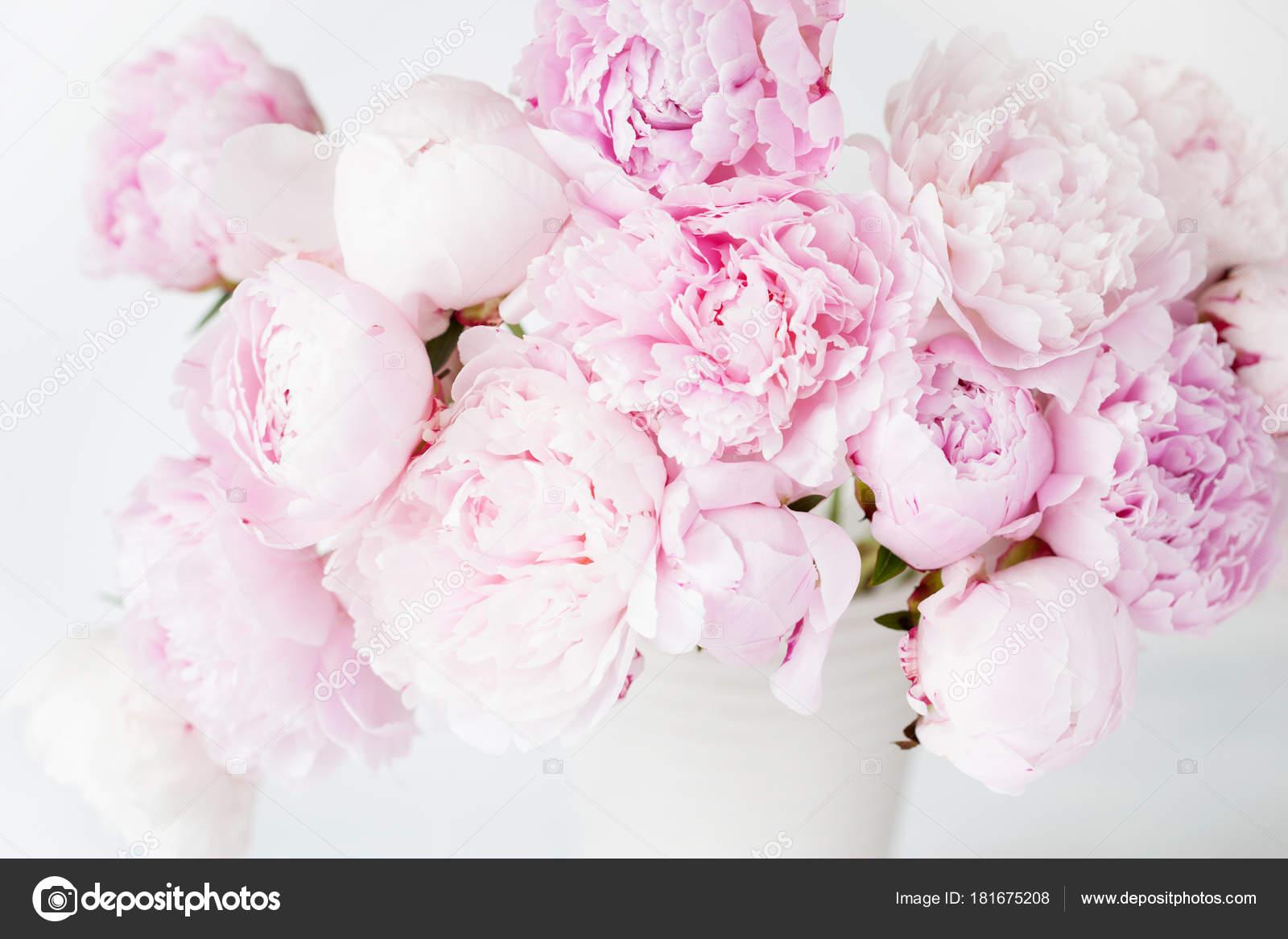 Beautiful pink peony flowers bouquet in vase stock photo beautiful pink peony flowers bouquet in vase photo by duskbabe izmirmasajfo Images
