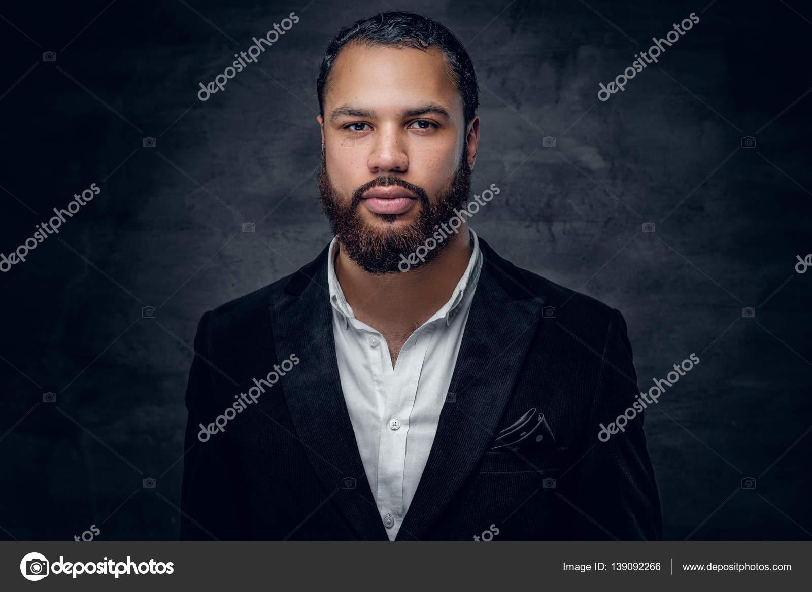 Homme En Africain Homme En Veste Noire Noire Africain Veste Homme rArxq01w