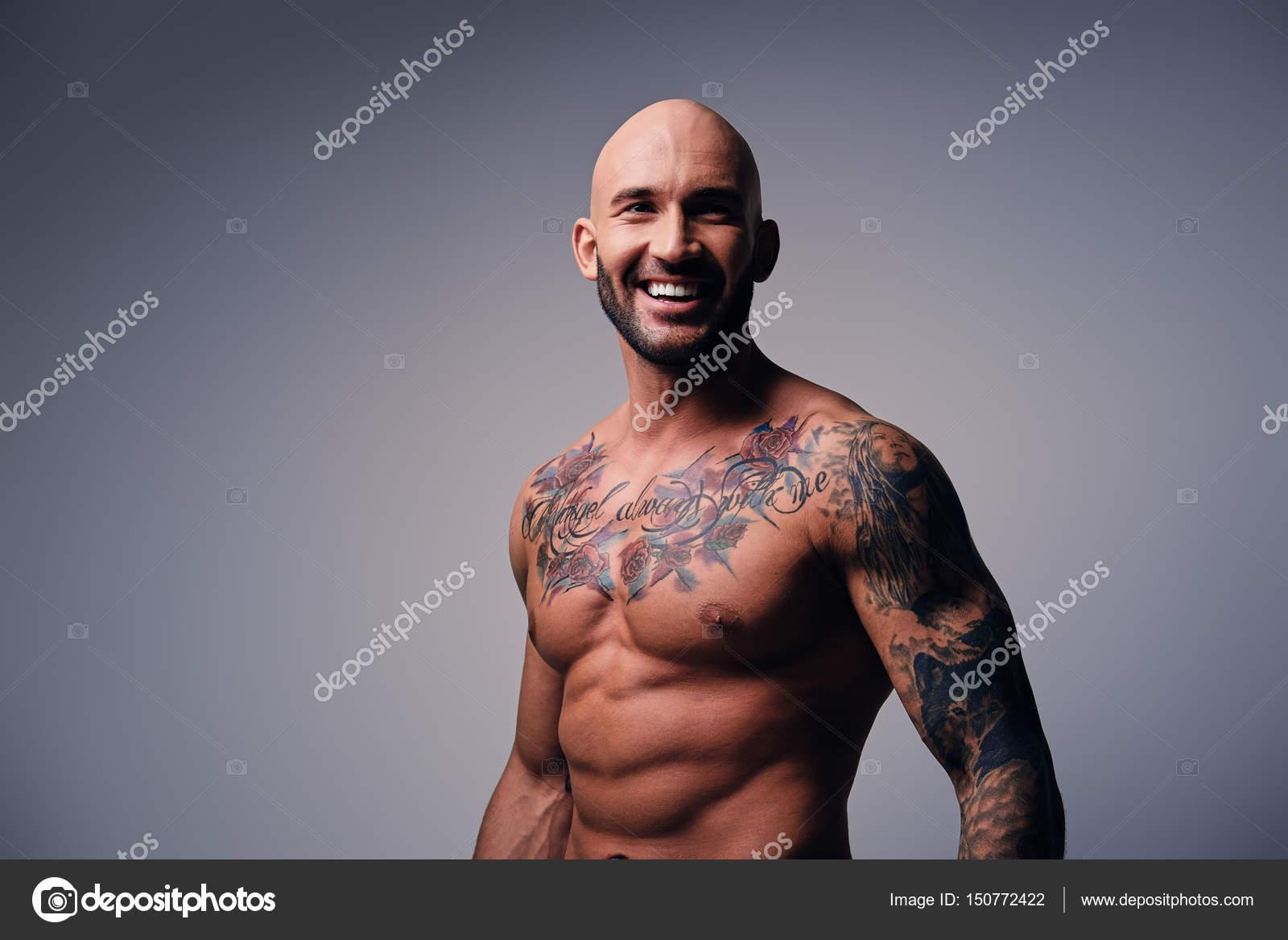 Tatuajes Stock Hombre © De Sonriente Sin Con Foto Fxquadro — Camisa 80OkNnPXw