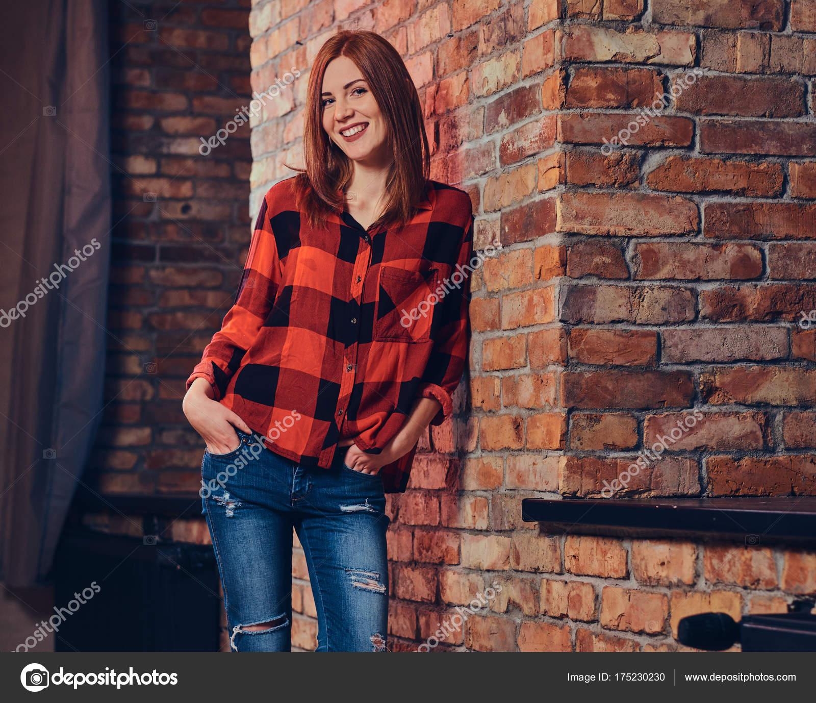 Рубашки для рыжих девушек