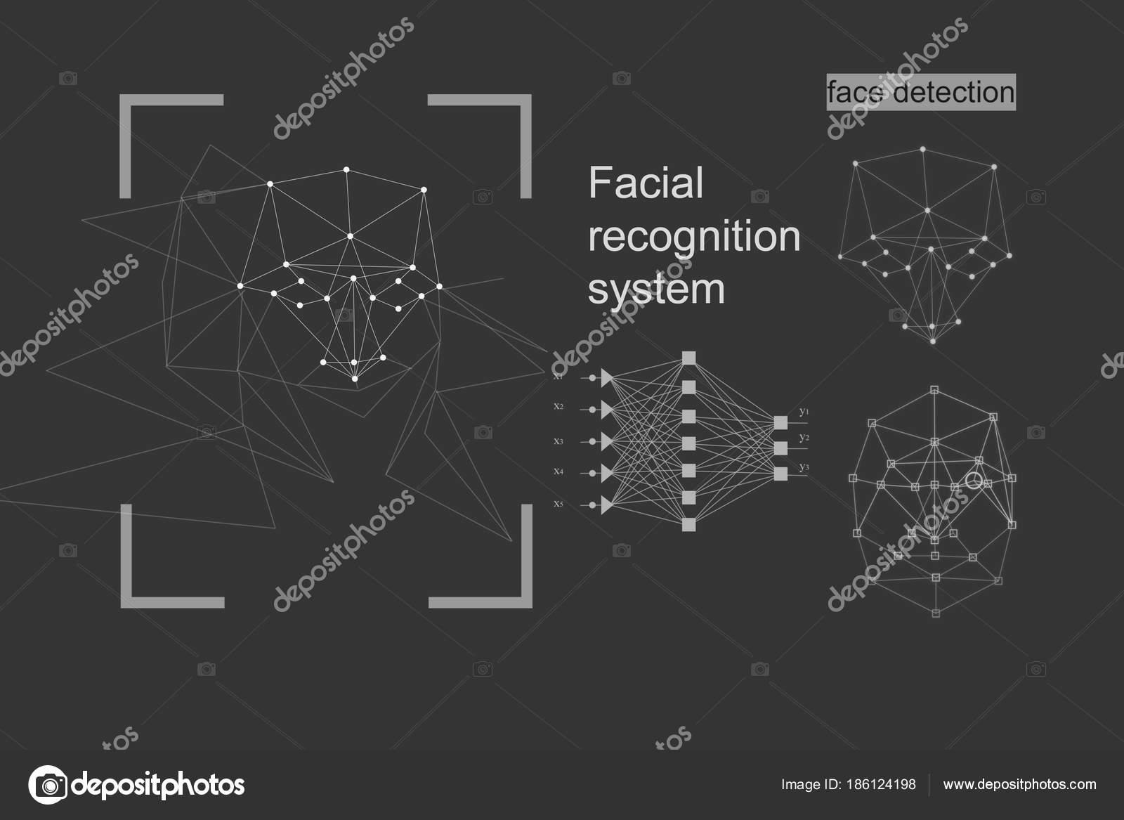 O conceito de reconhecimento diagrama da grade e algoritmo de rede o conceito de reconhecimento diagrama da grade e algoritmo de rede neural plano de fundo cinzento foto de kriscole ccuart Gallery