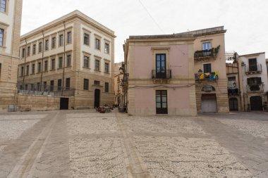 View of Ronco del Pozzo square, Ortigia