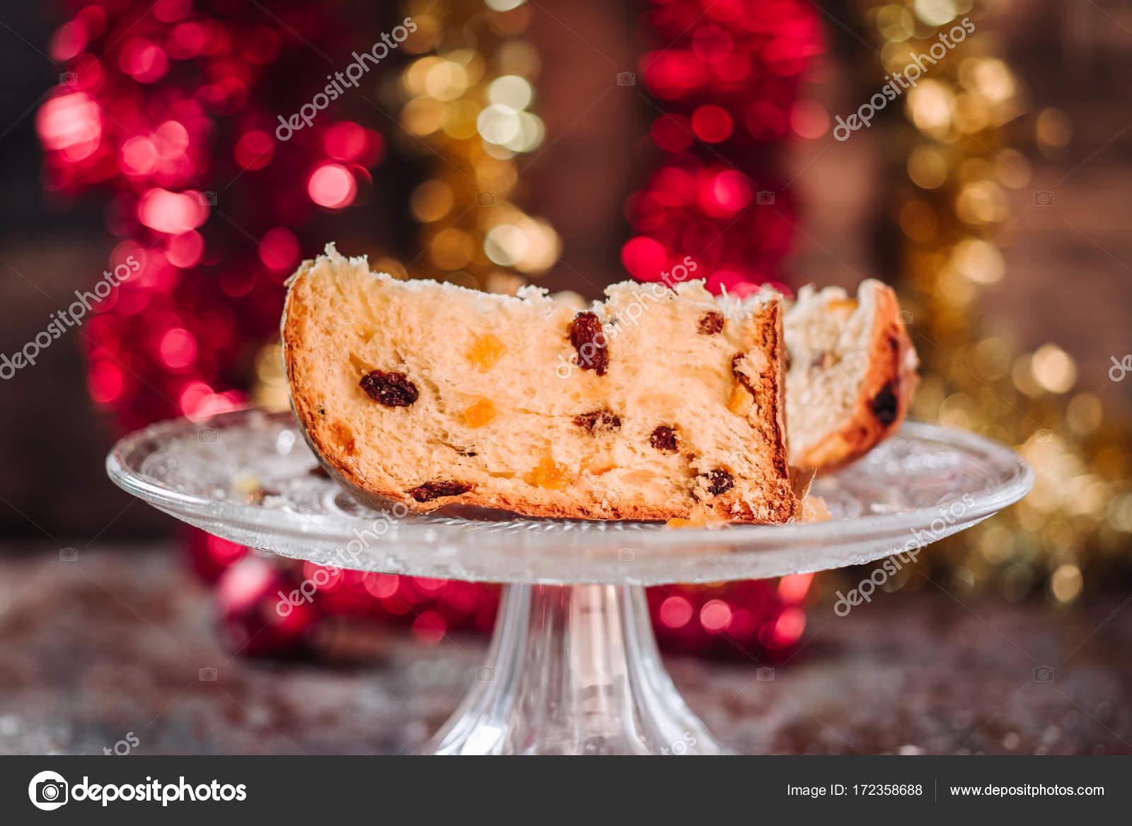 Chocolate Panettone Cake