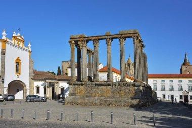 The Roman Temple of Evora also referred to as the Templo de Dian