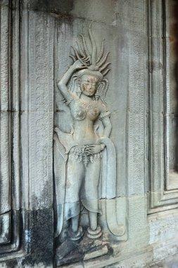Angkor Wat, Cambodia. Dancing Apsara