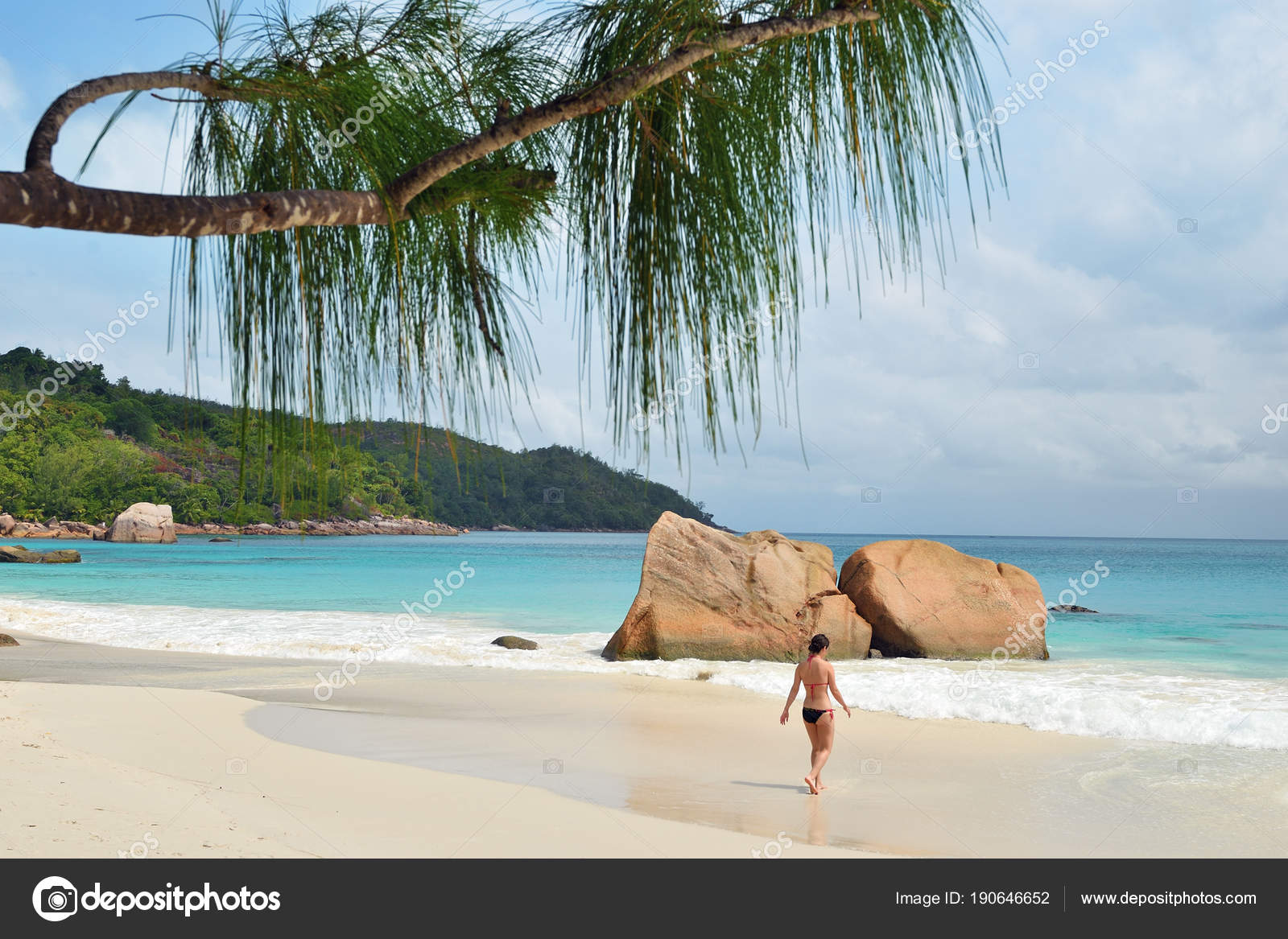 tropical beaches, seychelles islands — stock photo © znm666 #190646652