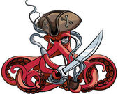Photo Octopus the Pirate