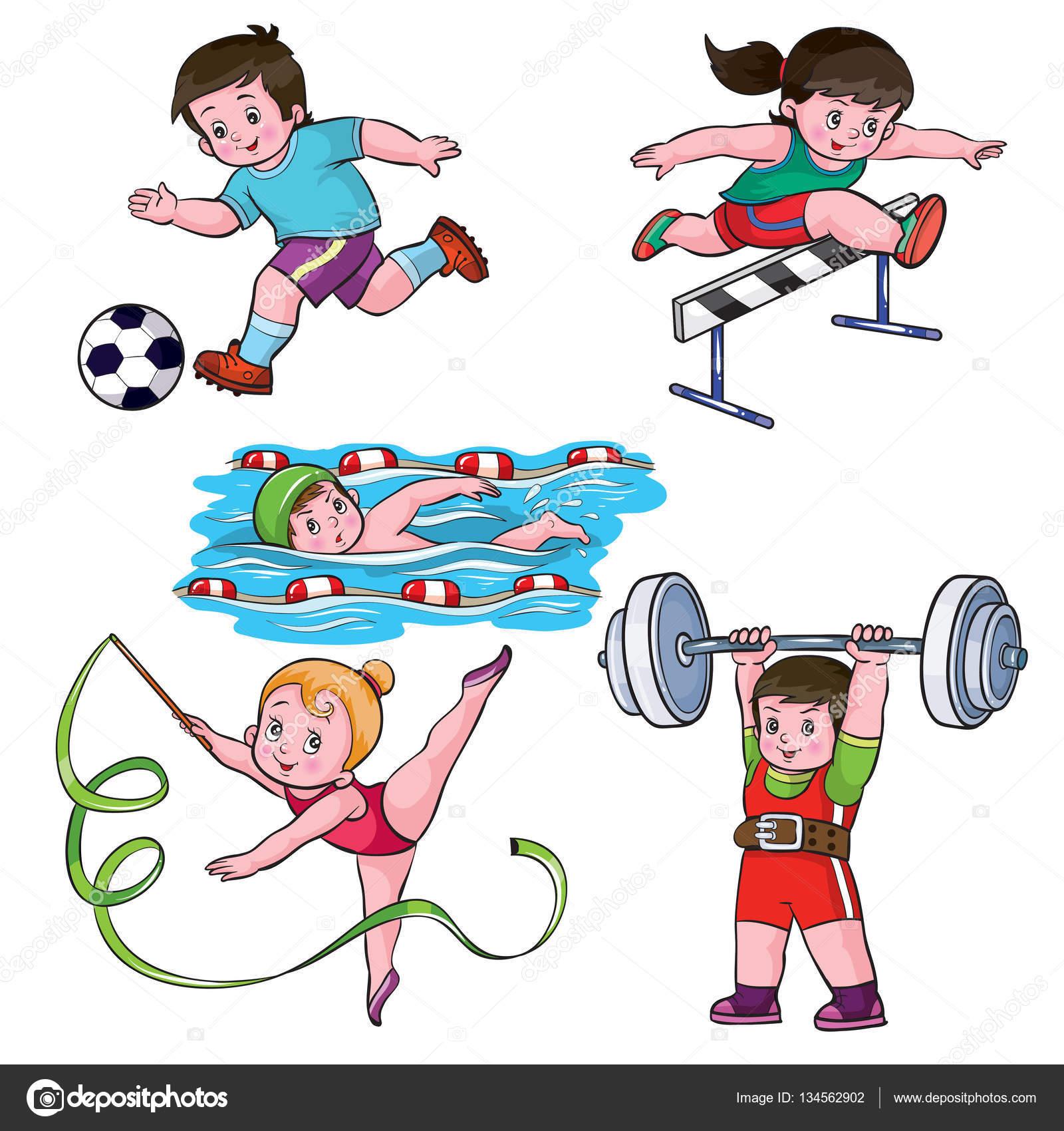 Виды спорта фото для детей
