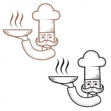 icons of  chefs logos