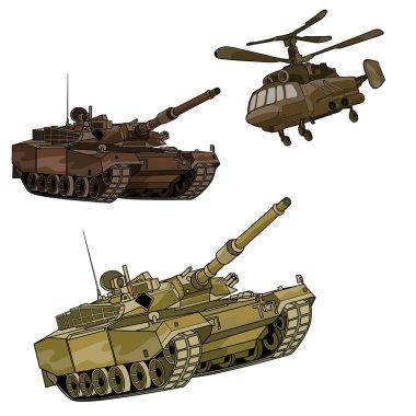 icons of military technics