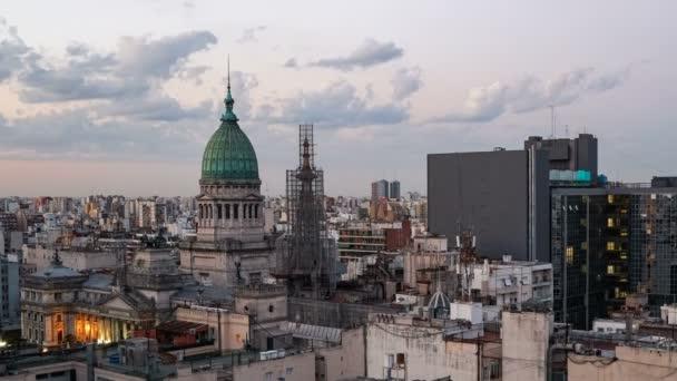 Congress of Argentina Palace timelapse