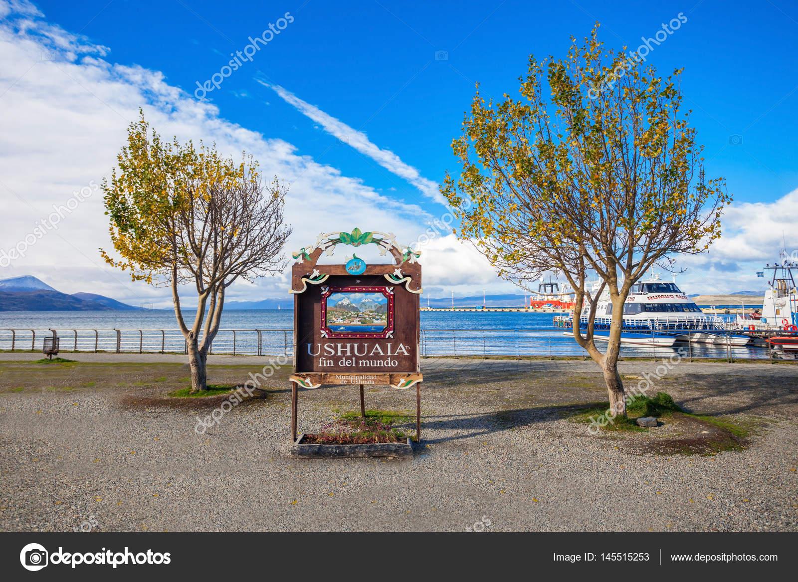 Ushuaia Fin Del Mundo Redaktionelles Stockfoto Saiko3p 145515253