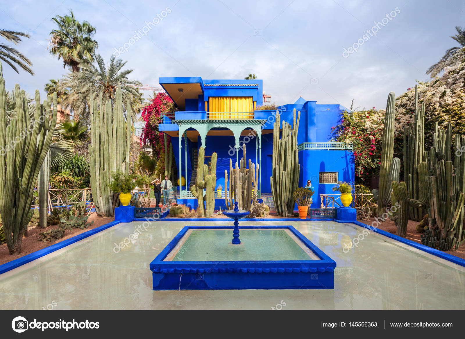Le jardin majorelle photo ditoriale saiko3p 145566363 - Jardin majorelle prix d entree ...