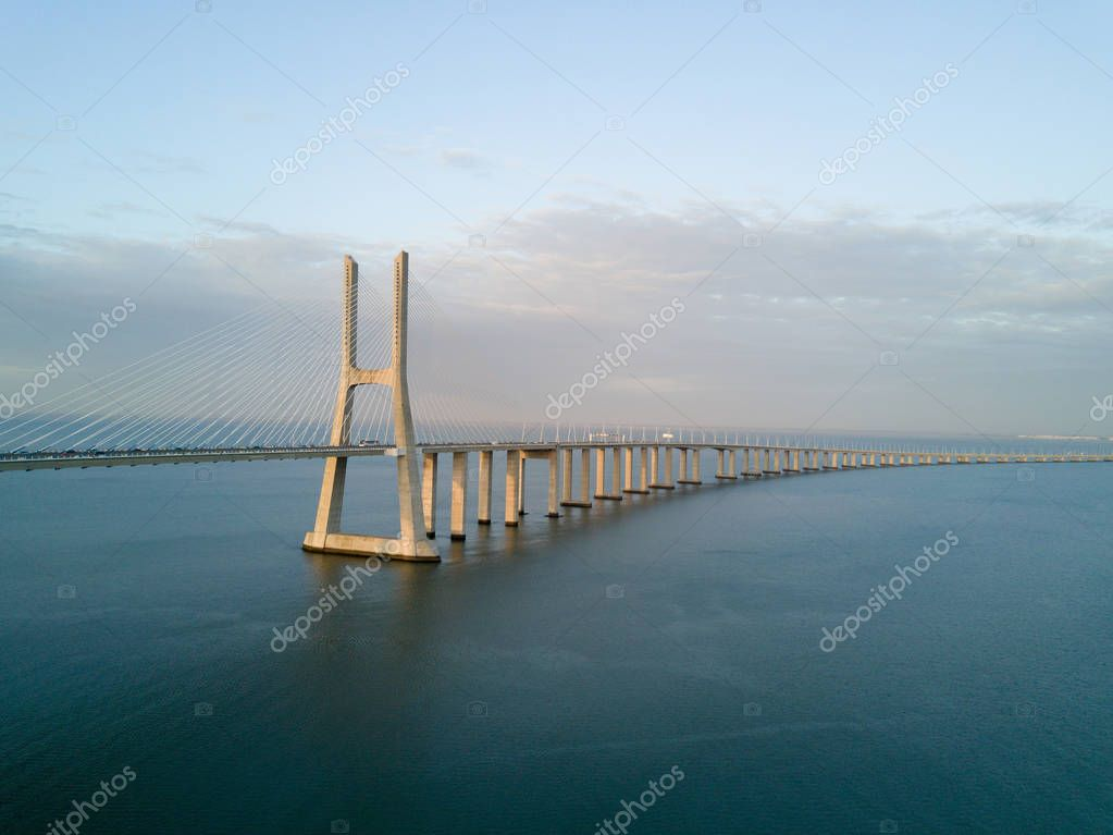 Vasco da Gama Bridge - Lisbon