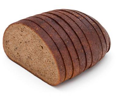 Fresh sliced rye bread