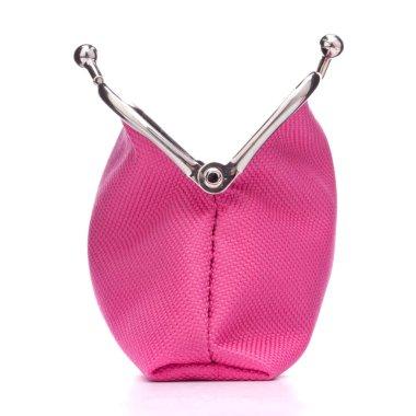 Empty open purse