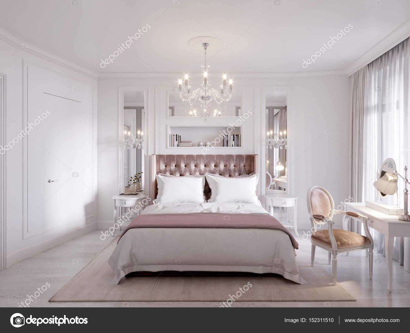 Spaziosa e luminosa contemporaneo classico camera da letto ...