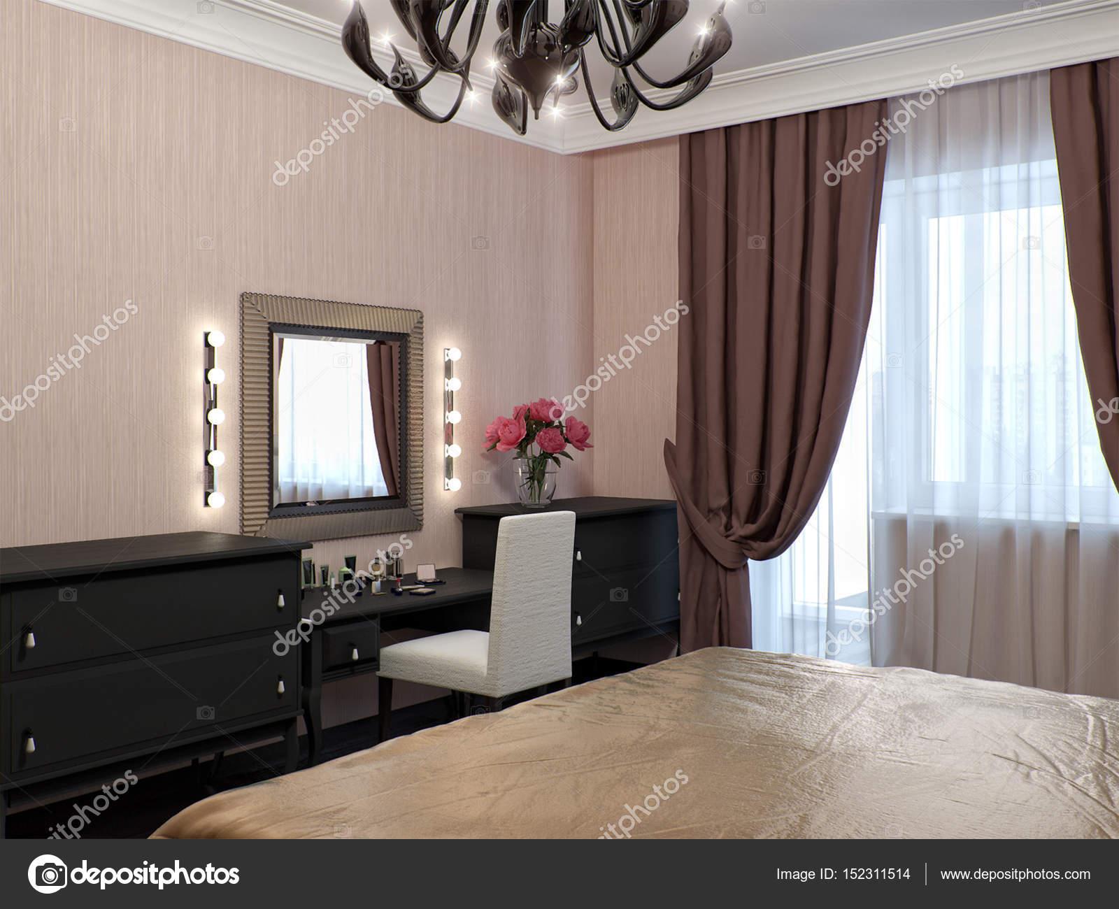 Städtische zeitgenössische klassische Moderne Schlafzimmer ...