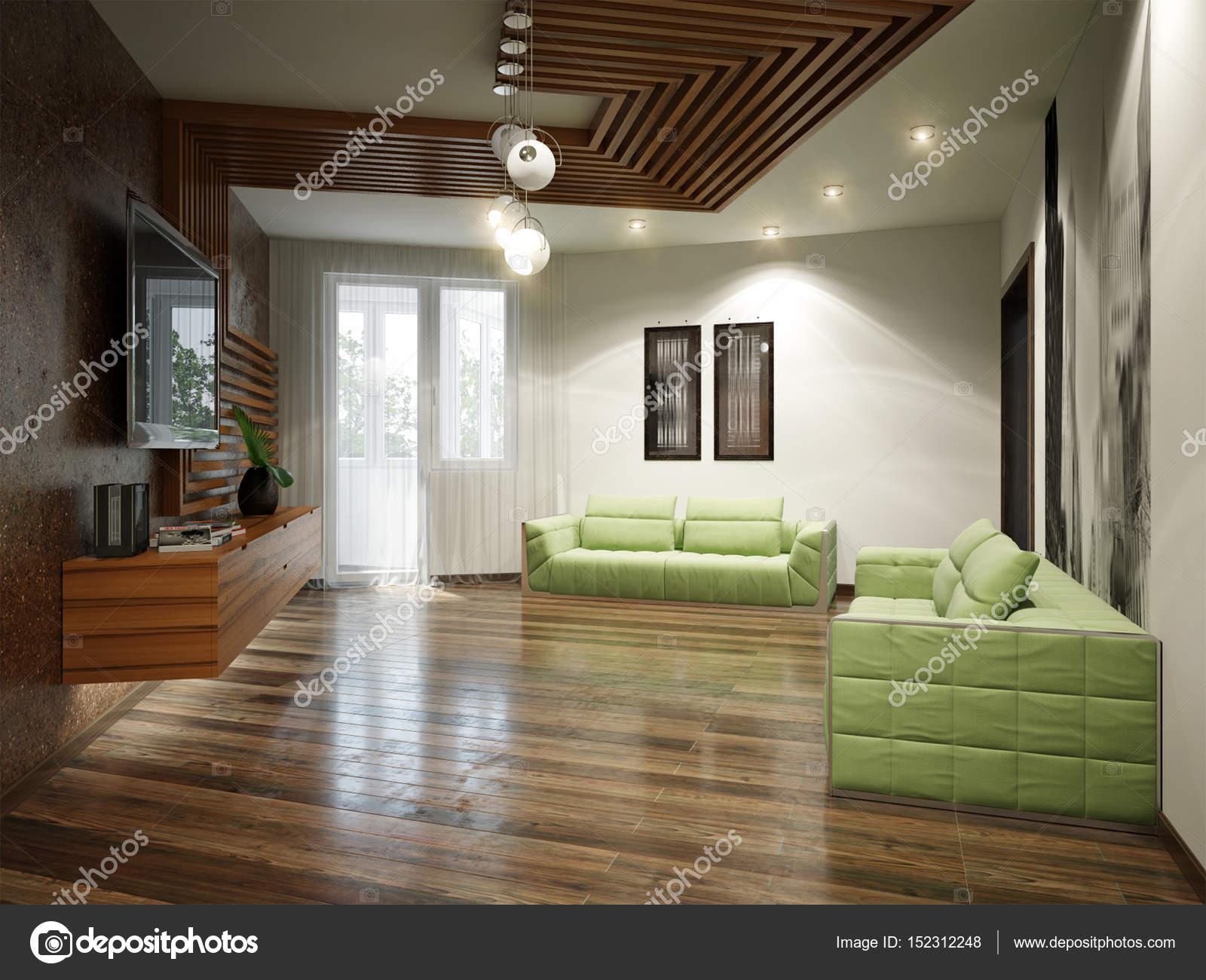 Moderne städtische zeitgenössische wohnzimmer interior design