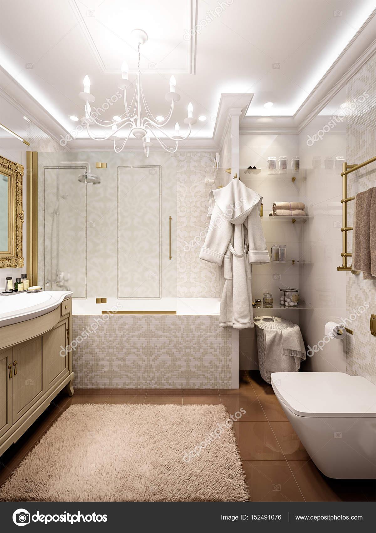 Salle De Bains Luxueuse En Design D Int Rieur De Style Classique