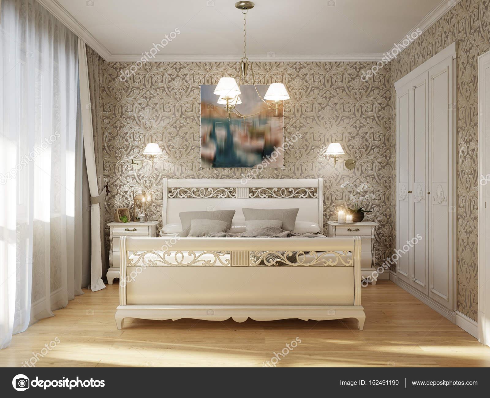 Camera Da Letto Contemporanea Classica : Camera da letto classica tradizionale interior design u foto stock