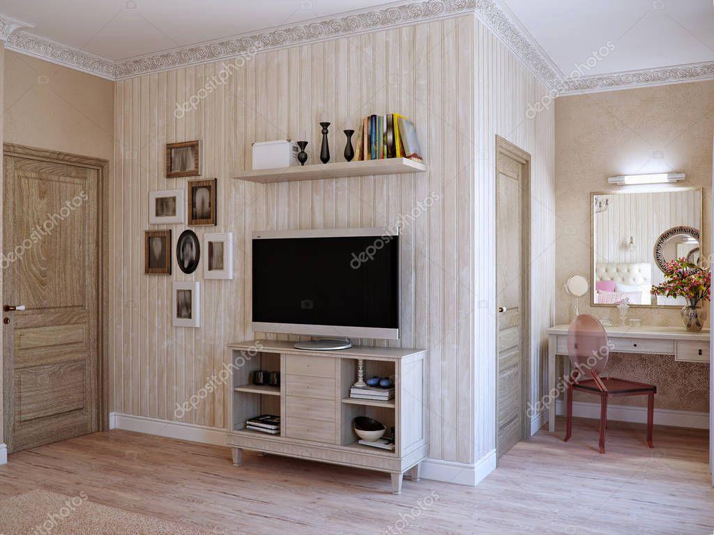 Camera da letto rustica tradizionale classico moderno provenza foto stock svetlanafeo 152491206 - Camera da letto classico moderno ...
