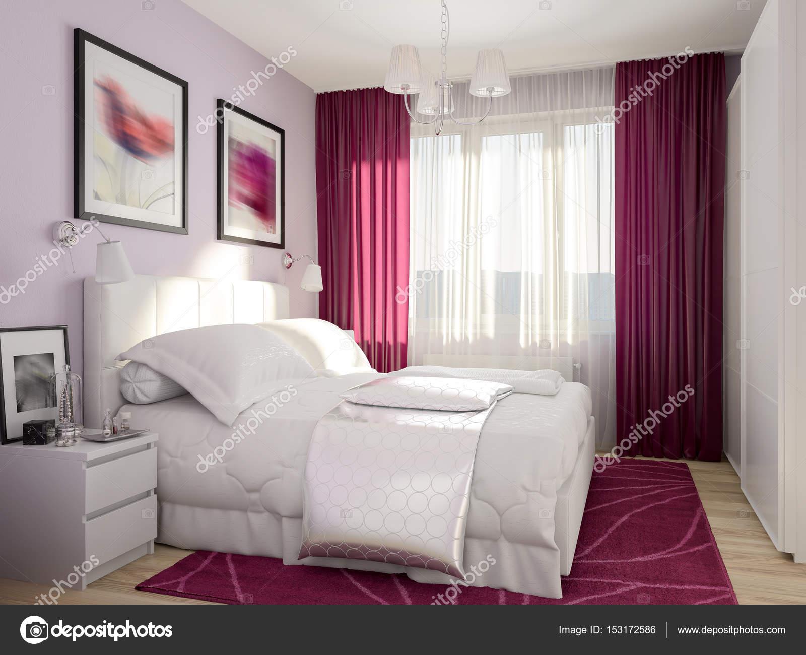 Rban zeitgenössische Moderne Schlafzimmer-Innenarchitektur ...