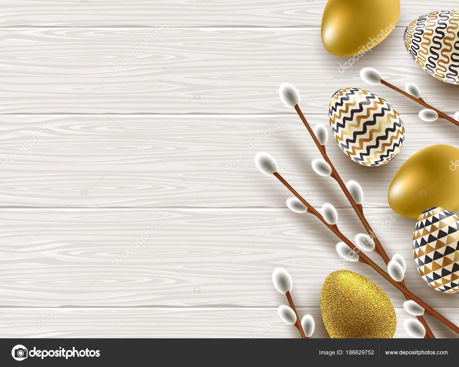 Dipingere Una Scrivania.Illustrazione Di Pasqua Figa Salice Rami Dipingere Le Uova
