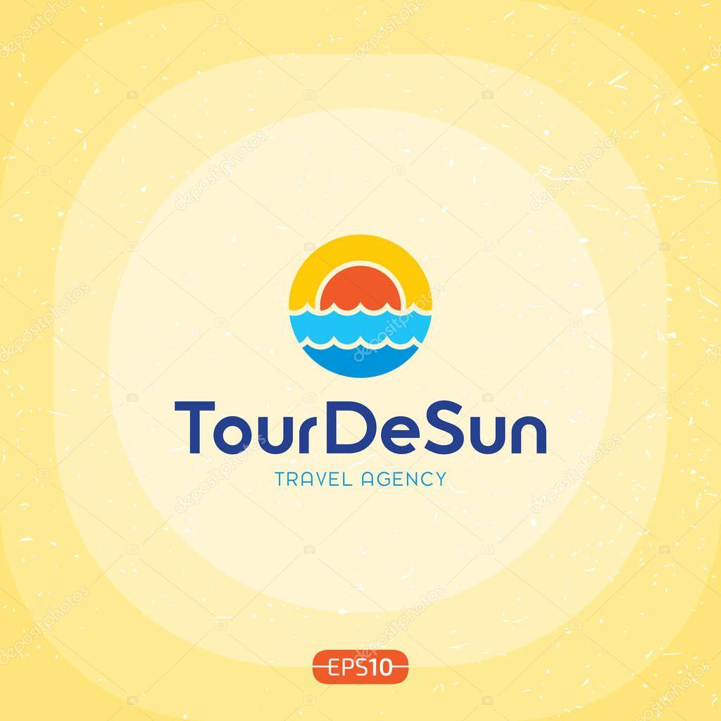 ツアー ・ デ ・太陽ロゴのテン...