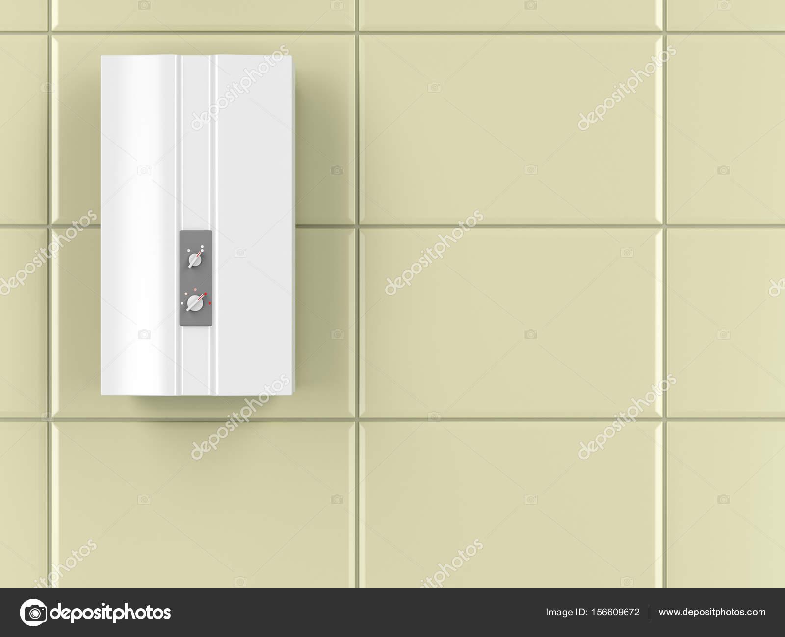 Automatische waterverwarmer — Stockfoto © magraphics #156609672