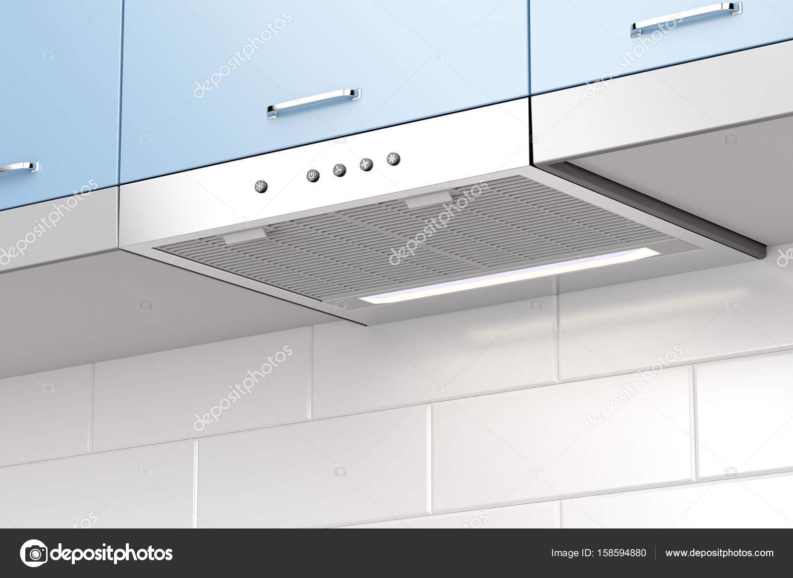 Moderne Dunstabzugshaube — Stockfoto © magraphics #158594880