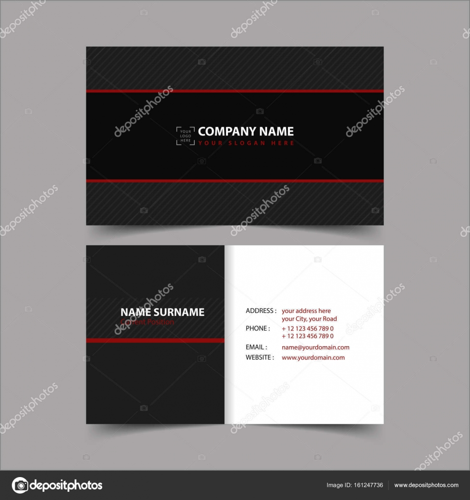 vinyl record business card template stock vector zzoplanet