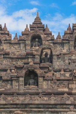 Borobudur temple on Java island