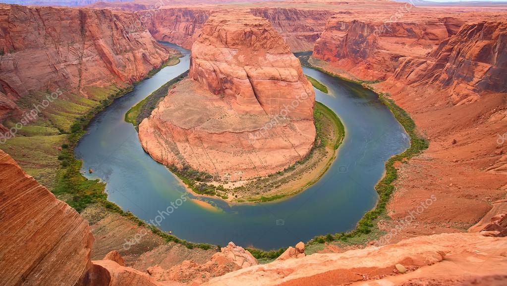 Famous Horseshoe canyon